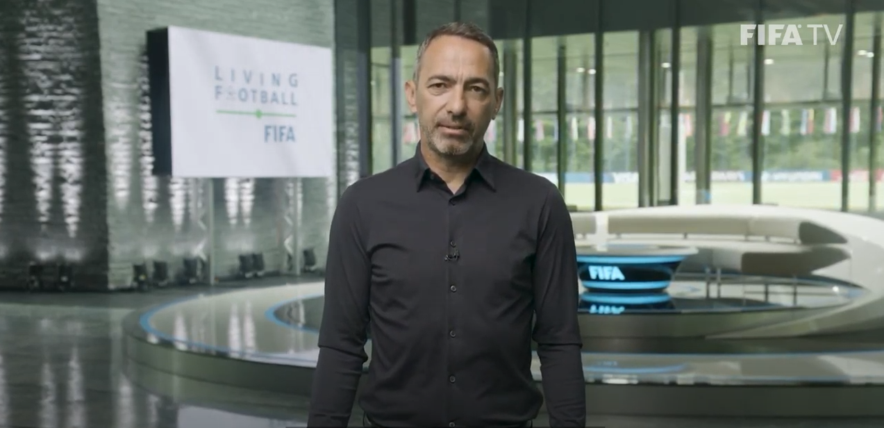 Youri Djorkaeff, CEO FIFA Foundation